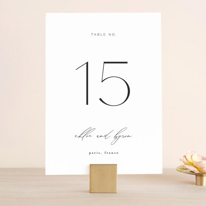 """""""chloe """" - Wedding Table Numbers in Silk by Kelly Schmidt."""