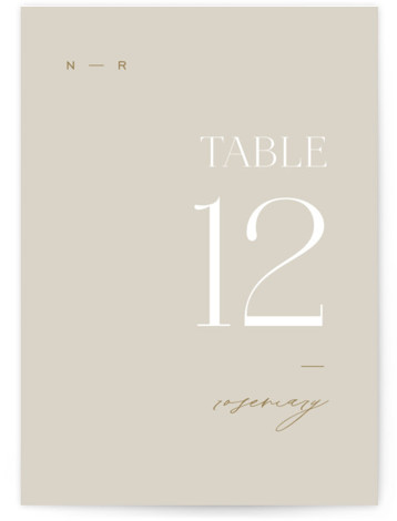 Oval Table Numbers