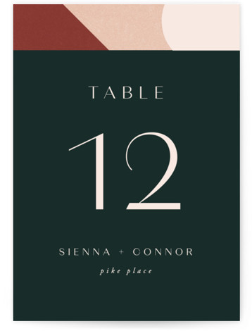 Archway Table Numbers