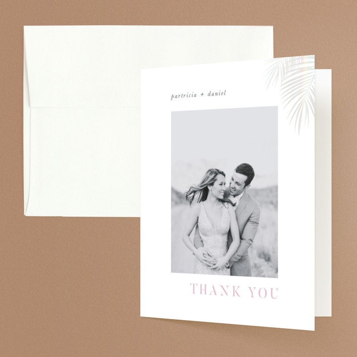 """Sunset by the Sea"" - Gloss-press™ Thank You Cards in Ombre by lulu and isabelle."