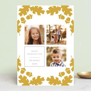 Acorn Frame Thanksgiving Petite Cards
