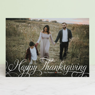 Classic Merry Thanksgiving Petite Cards