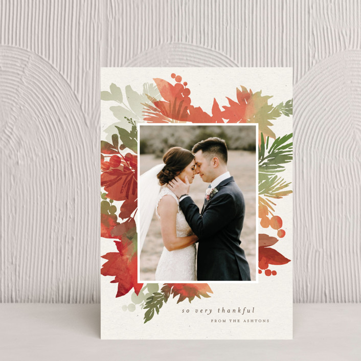 """""""Holiday Bouquet"""" - Thanksgiving Petite Cards in Harvest by Eric Clegg."""