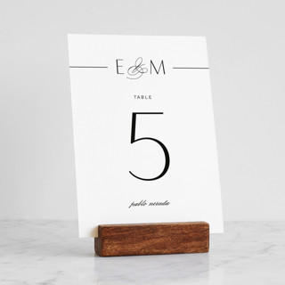 Wood Block Place Card Holder Place Card Holders