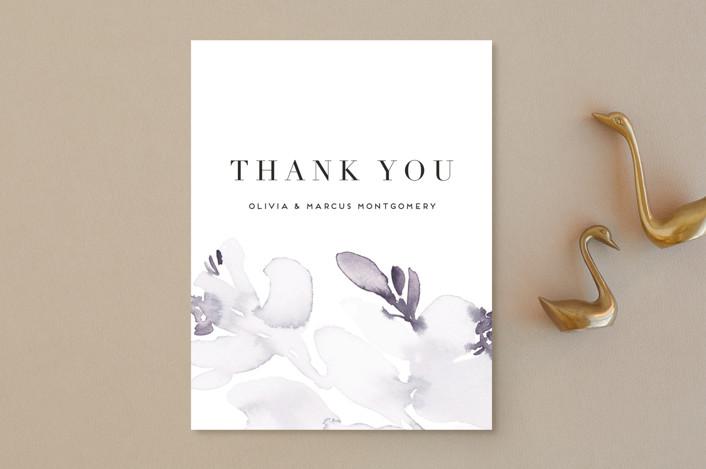 """Florista Modernista"" - Thank You Postcards in Azalea by Petra Kern."