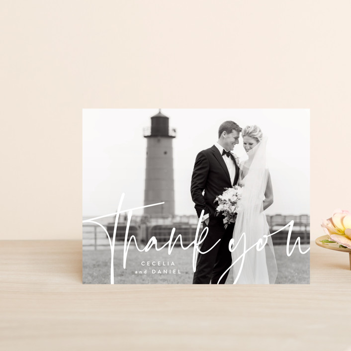 """""""In this together"""" - Thank You Postcards in Black Tie by Lea Delaveris."""
