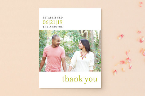 float + celebrate Thank You Postcards