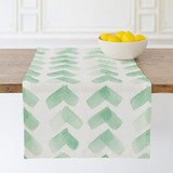 Minty Chevron by Vanessa Rossi Design