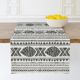 African Tribal Forest Table runners