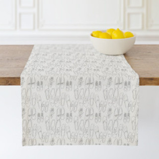 Messy Shoes Table runners