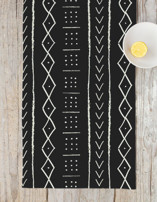 mud cloth tribe Table runners
