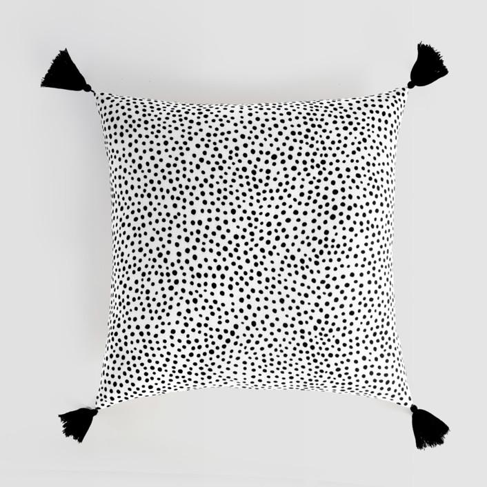 Effervesce Tasseled Pillow Cover