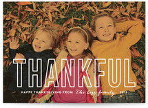 Modern Thankful