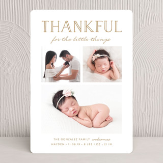 The Little Things Thanksgiving Cards