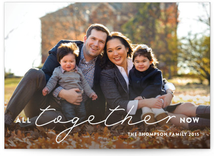 All Together Now Thanksgiving Cards