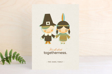 The First Thanksgiving Thanksgiving Cards