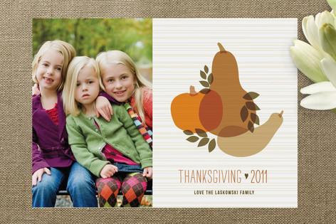 Farmer's Bounty Thanksgiving Cards