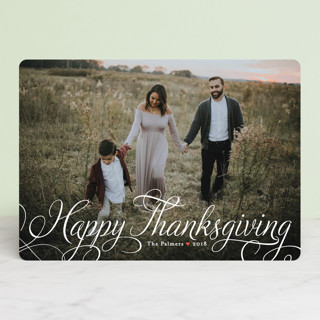 Classic Merry Thanksgiving Cards
