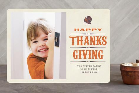 Turkey Meatloaf Thanksgiving Cards