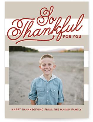 Thankful Thanksgiving Cards
