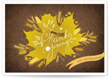 Thanksgiving Leaf