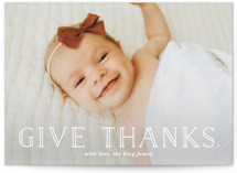 The Season To Give Thanks