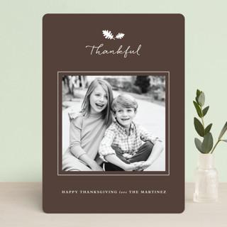 Framed Thanks Thanksgiving Cards