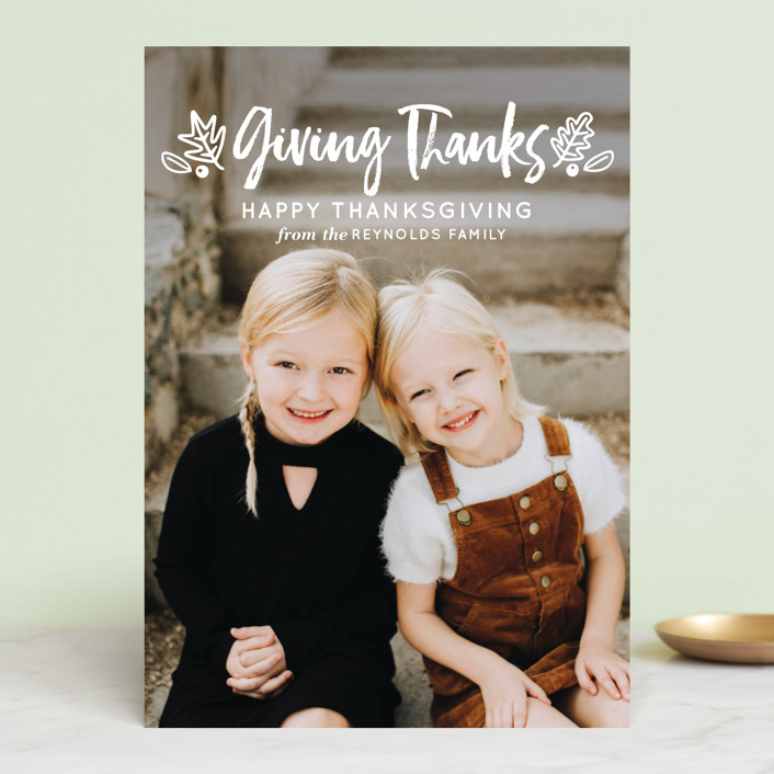 """Thanksgiving Greetings"" - Thanksgiving Cards in Pickle by Faiths Designs."