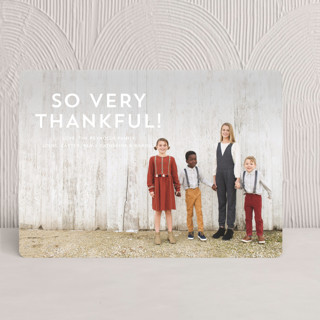 Thankful Kiss Thanksgiving Cards
