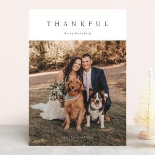 Minimal Joy Thanksgiving Cards
