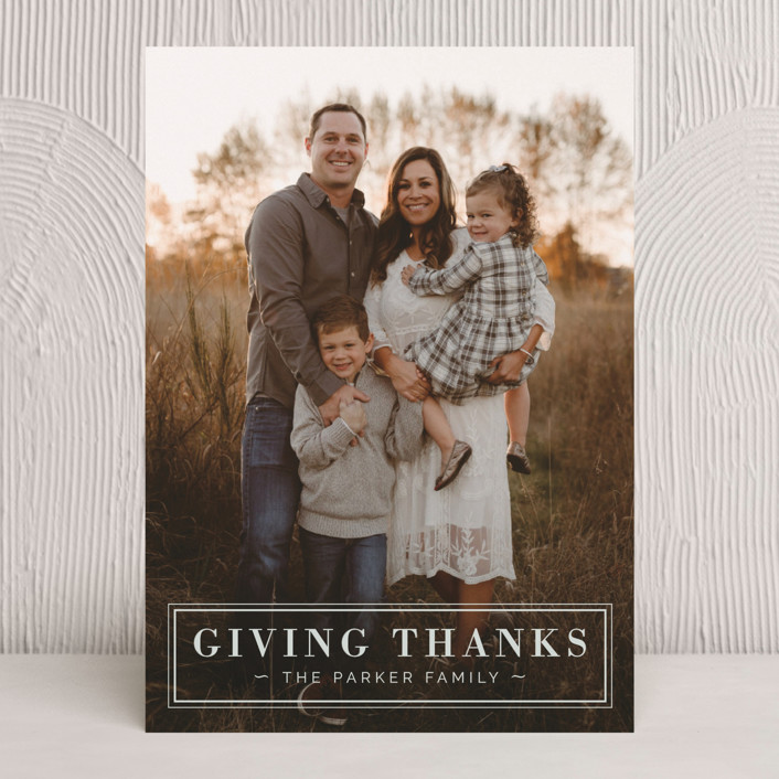 """""""Giving Thanks"""" - Thanksgiving Cards in Cloudy by Cindy Reynolds."""