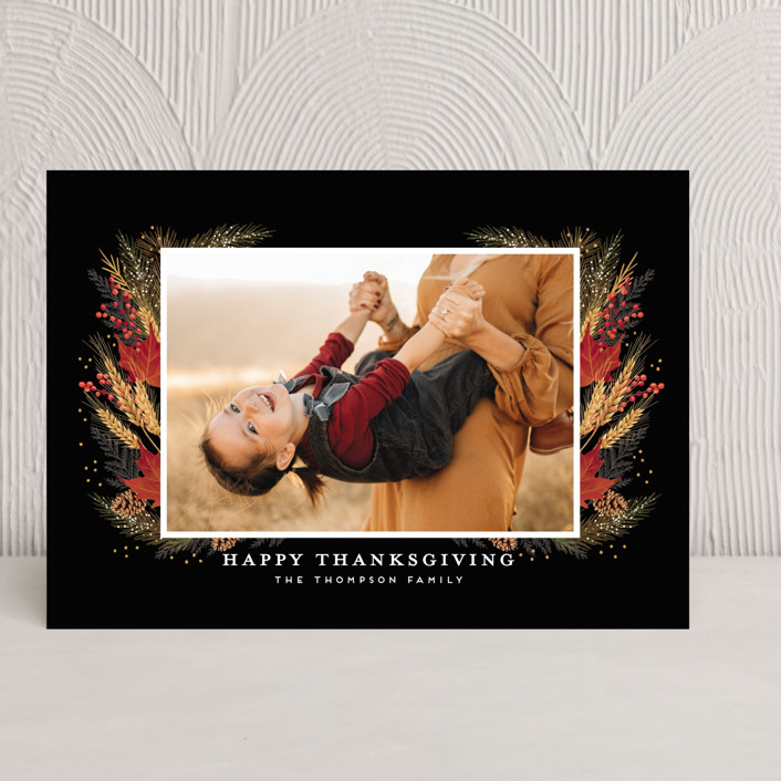 """""""Always be thankful"""" - Thanksgiving Cards in Fall by iamtanya."""