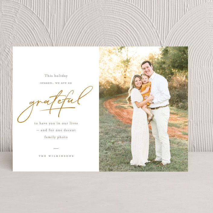 So Grateful Thanksgiving Cards By Robert And Stella Minted