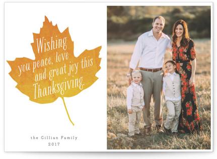 Fall Foliage Thanksgiving Postcards