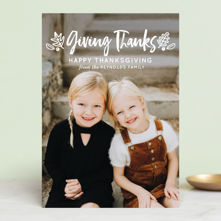 """""""Thanksgiving Greetings"""" - Thanksgiving Postcards in Pickle by Faiths Designs."""