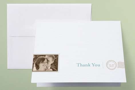 The Seasonal Send-Off Thank You Cards