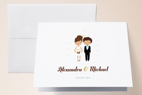 Cake Toppers Thank You Cards