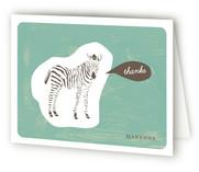 Zebra Cutout