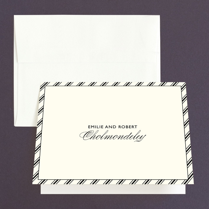 """Moments Captured"" - Modern Thank You Cards in Ivory by Carrie Eckert."