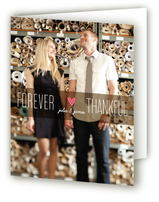Forever Thankful Thank You Cards