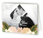 Classic Floral Thank You Cards