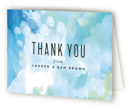 Gallery Abstract Art Thank You Cards
