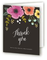 Garden Blooms Thank You Cards
