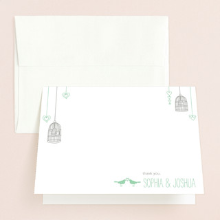 Love Let Loose Thank You Cards