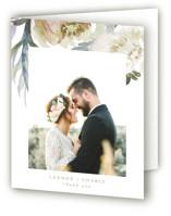 romantic bouquet Thank You Cards