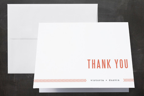 Ticket to Love Thank You Cards