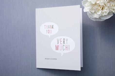 Token Thank You Cards