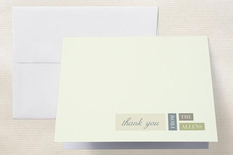 Modern Elegance Thank You Cards