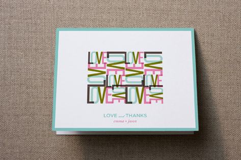 All You Need Is Thank You Cards