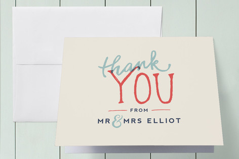 Celebration of Love Thank You Cards